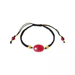 Armband mit rotem Chalzedon