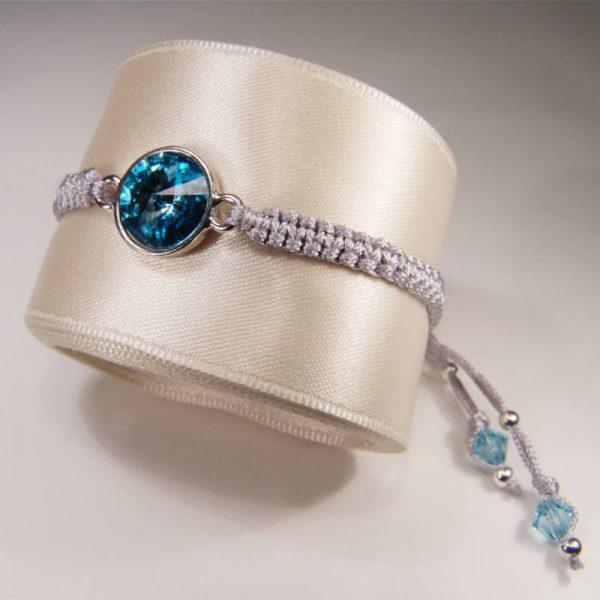 Armband mit Kristall Türkis
