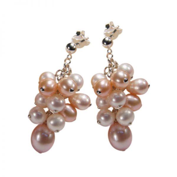 Lange Perlentrauben in Pastelltönen